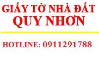 Dịch vụ giấy tờ nhà đất trọn gói Quy Nhơn Bình Định